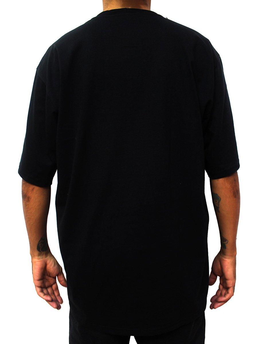 Camiseta Cannabis Medicinal Maconha Ray Brown Preta