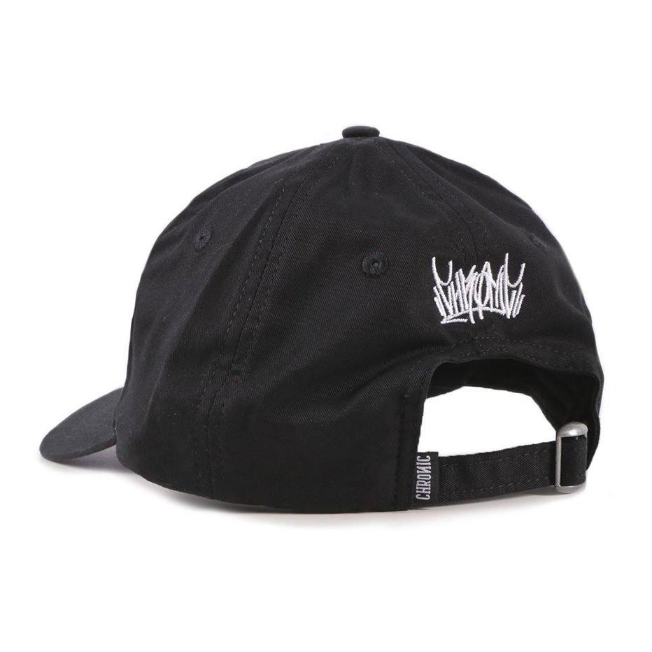 Boné Dad Hat Chronic 420 Strapback Aba Curva Preto